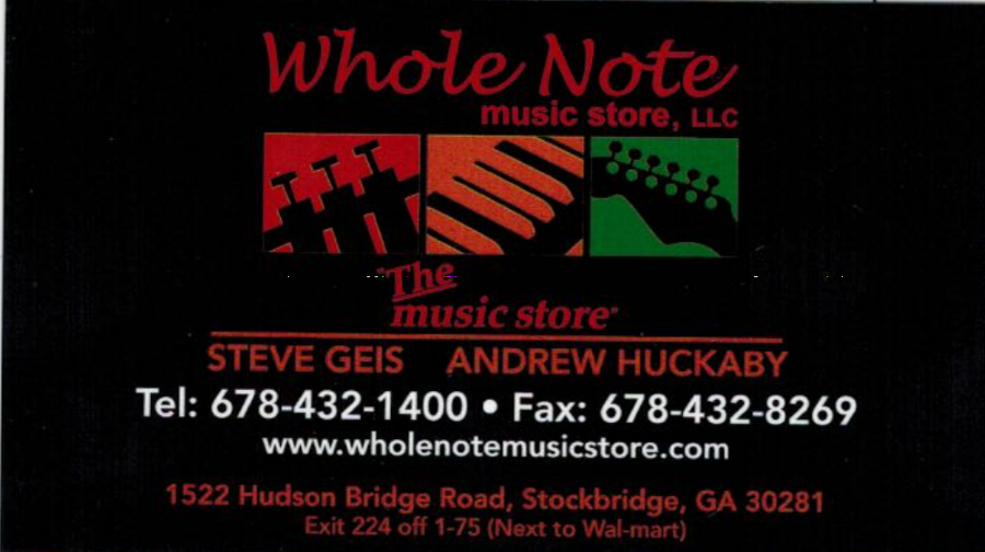 Whole Note Music Store, LLC