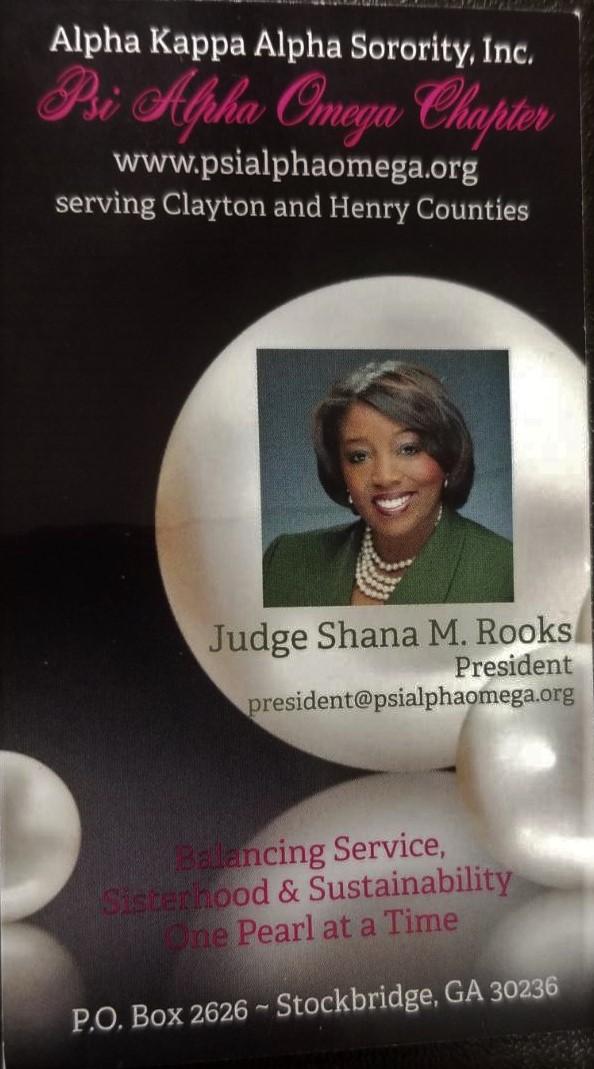 Judge Shana Rooks