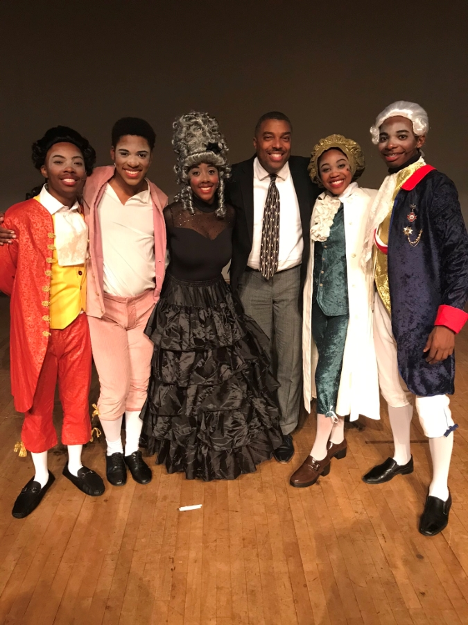 Dr. Beasley with Amadeus Cast October 18, 2019