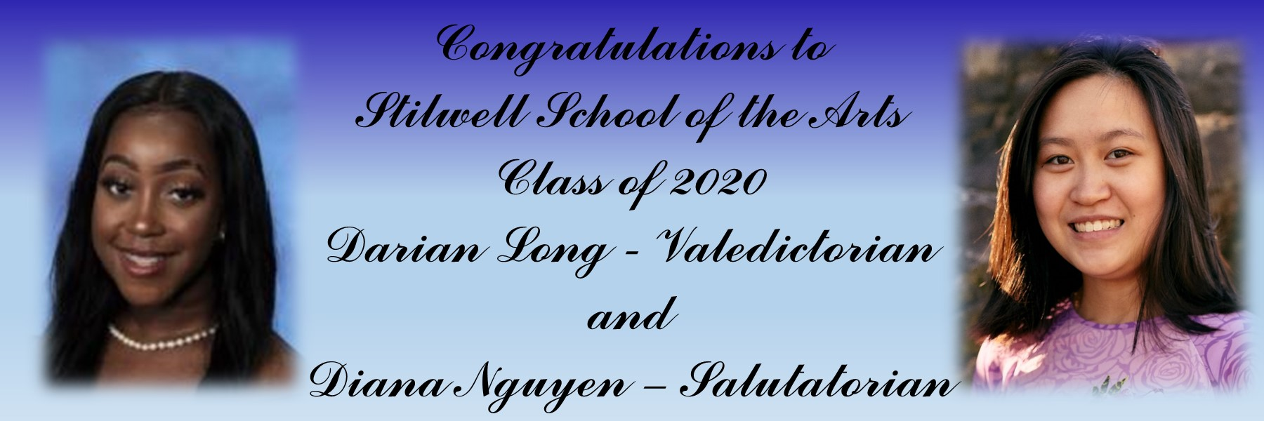 Class of 2020 Val and Sal